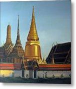 Wat Pra Keaw Metal Print