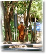 Wat Umong 2 Metal Print