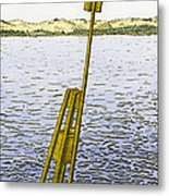Watching From Number 2 Metal Print by Charles Harden