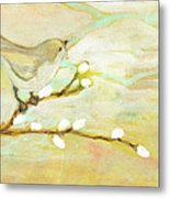 Watching The Clouds No 3 Metal Print by Jennifer Lommers