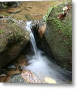 Water At Work Metal Print