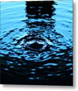 Water Meditation Metal Print