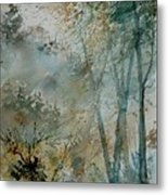Watercolor  051008 Metal Print