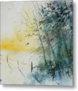 Watercolor  080708 Metal Print