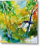 Watercolor 115021 Metal Print