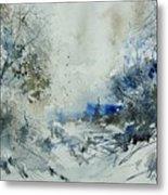 Watercolor  210307 Metal Print