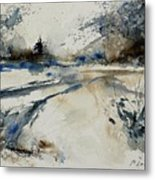 Watercolor 240906 Metal Print