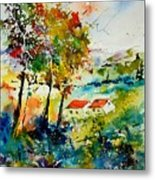 Watercolor 903001 Metal Print