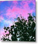 Watercolor Sky Metal Print