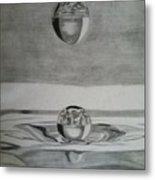 Waterdrop Metal Print
