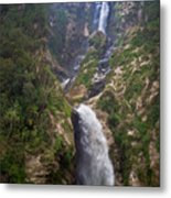 Waterfall Highlands Of Guatemala 1 Metal Print