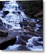 Waterfall In Georgia Metal Print