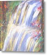 Waterfall Of El Dorado Metal Print