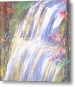 Waterfall Of El Dorado Metal Print