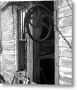 Waterpulley Metal Print