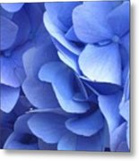 Waves Of Blue Metal Print