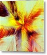 Wax Abstract Metal Print