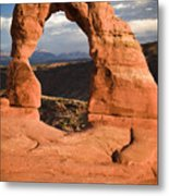 Way Of Delicate Arch  Metal Print