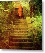 Way To Buddha's Temple Metal Print