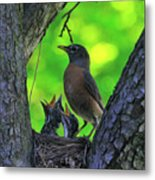 We Are Hungry Metal Print