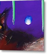 We Two Cats Metal Print