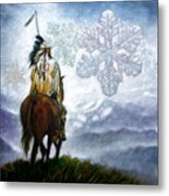 We Vanish Like The Snow Flake Metal Print