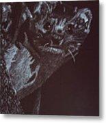 Weasel Weasel Weasel Metal Print