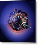 Wee Hong Kong Planet Metal Print