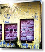 Welcome Metal Print by Tamyra Ayles