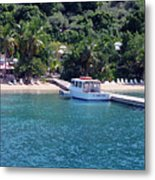 Welcome To Cooper Island Metal Print