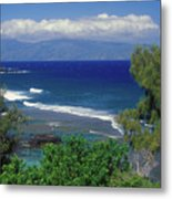 West Maui Ocean View Metal Print