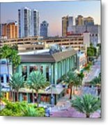 West Palm At Twilight Metal Print