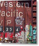 Western Pacific Metal Print