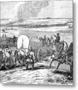 Westward Expansion, 1858 Metal Print by Granger