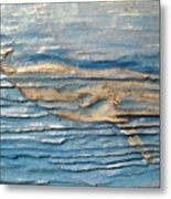 Whale Metal Print by Doris Lindsey