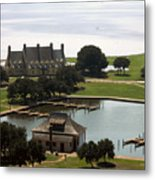 Whalehead Club And Boathouse Metal Print