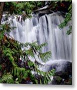 Whatcom Falls Cascade Metal Print