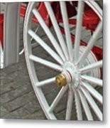 Wheel Motion Metal Print