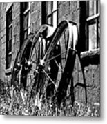 Wheels From The Past Metal Print