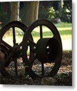 Wheels Of War-spanish American War Artifacts Metal Print