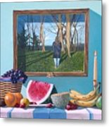 Where Fruit Of Life Lies Within Metal Print