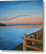 Whidbey Island Sunset Metal Print
