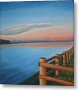 Whidbey Island Sunset Metal Print