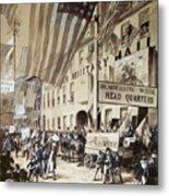 Whig Party Parade, 1840 Metal Print