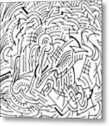 Whirl Metal Print