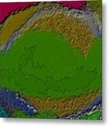 Whirlpool Colors Metal Print