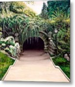 Whispering Tunnel Metal Print