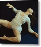 White Dancer Left View Metal Print