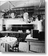 White House Kitchen, 1901 Metal Print