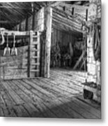 Whitehorse Ranch 3 Metal Print by Ron Schwager